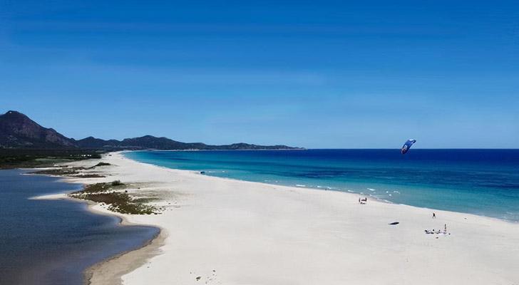 La spiaggia Marina Rei