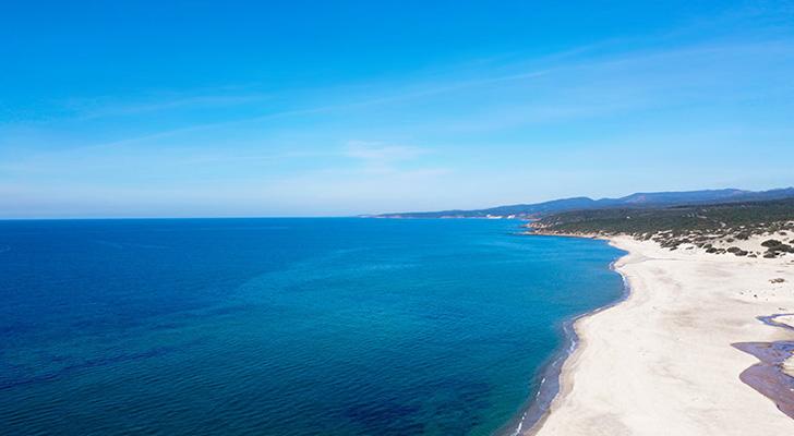Spiaggia Piscinas costa occidentale della Sardegna