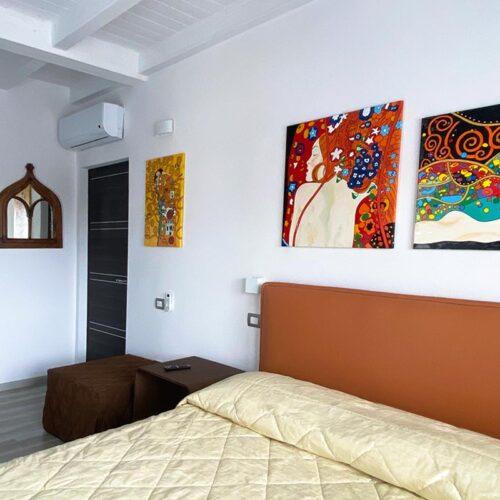 Bed & Breakfast Luce Cagliari Stanza Klimt