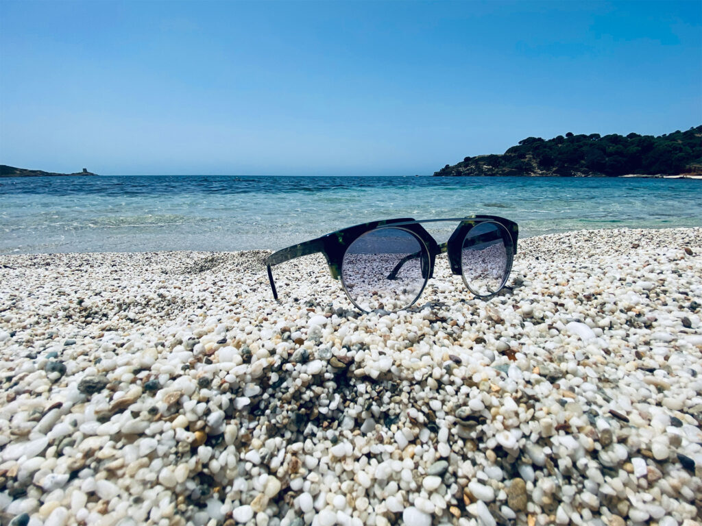 sunglases at the beach
